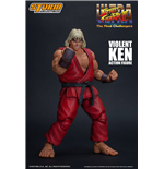 Ultra Street Fighter II: The Final Challengers Actionfigur 1/12 Violent Ken 15 cm