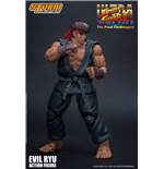 Ultra Street Fighter II: The Final Challengers Actionfigur 1/12 Evil Ryu 15 cm