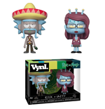Rick and Morty VYNL Vinyl Figuren Doppelpack Rick & Unity 10 cm