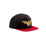 Kappe Wonder Woman  - 3d Gold Logo