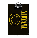 Nirvana Fußmatte Smiley 40 x 60 cm