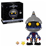 Kingdom Hearts 3 5 Star Vinyl Figur Soldier Heartless 8 cm