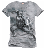 T-Shirt Captain America  336488