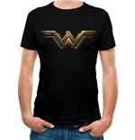 Wonder Woman Movie T-Shirt - Design: Logo