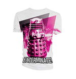 Doctor Who  T-Shirt für Männer - Design: Dalek Exterminate!