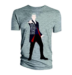 Doctor Who  T-Shirt für Männer - Design: 12th Doctor 100% Rebel Time Lord