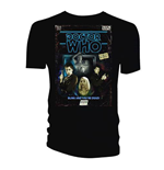 Doctor Who  T-Shirt für Männer - Design: Retro VHS Cover 10th Doctor Colour Graded