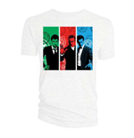 Doctor Who  T-Shirt für Frauen - Design: Red, Green, Blue Doctors
