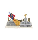 DC Comics 3D Pop-Up Grußkarte Superman