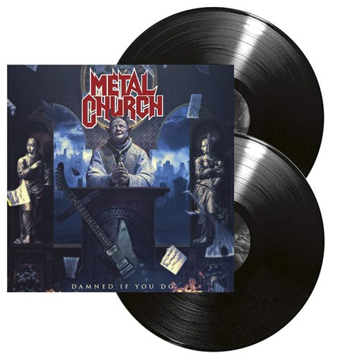 Vinyl Metal Church - Damned If You Do (2 Lp)