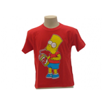 T-Shirt Die Simpsons Bart Slurp