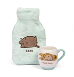 Pusheen Wärmflasche & Tasse Super Lazy