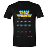 T-Shirt Space Invaders  : Game Screen Black (T-SHIRT Unisex )