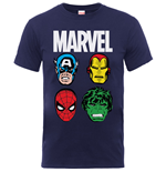 T-Shirt Marvel Superheroes 340565