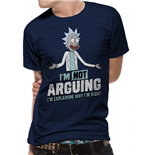 Rick And Morty T-Shirt - Design: Arguing