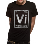 Marvel Comics T-Shirt - Design: Vibranium