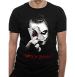 Batman The Dark Knight T-Shirt - Design: Why So SERIOUS?