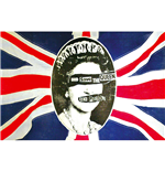 Sex Pistols Poster - Design: God Save The Queen