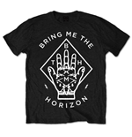 Bring Me The Horizon  T-Shirt unisex - Design: Diamond Hand