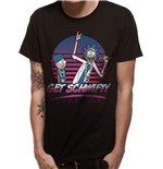 Rick And Morty T-Shirt - Design: Get Scwifty Sunset