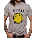 Nirvana T-Shirt - Design: Smiley Splat