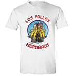 T-Shirt Breaking Bad : Los Pollos Cooks White (T-SHIRT Unisex )