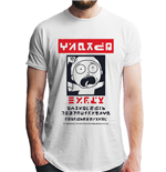 Rick And Morty T-Shirt - Design: Alien Morty Wanted Poster