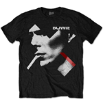David Bowie  T-Shirt unisex - Design: X Smoke Red