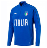 Italien Fussball Trainingshemde 2018-2019 (Blau)