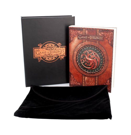 Game of Thrones Tagebuch Fire & Blood 17,5 x 14,5 cm