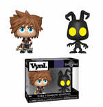 Kingdom Hearts 3 VYNL Vinyl Figuren Doppelpack Sora & Heartless 10 cm