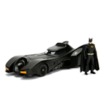 Batman Build N' Collect Diecast Kit 1/24 1989 Batmobil mit Batman Figur