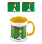 Simpsons Coloured Inner Tasse Homer Bush