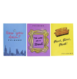 Friends Notizbücher 3er-Pack Phrases