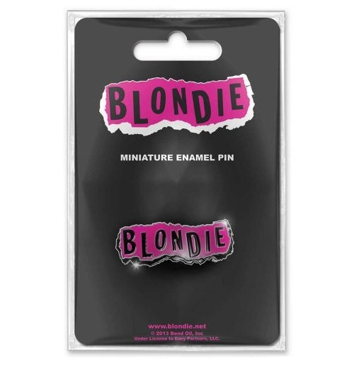 Blondie  Brosche - Design: Punk Logo