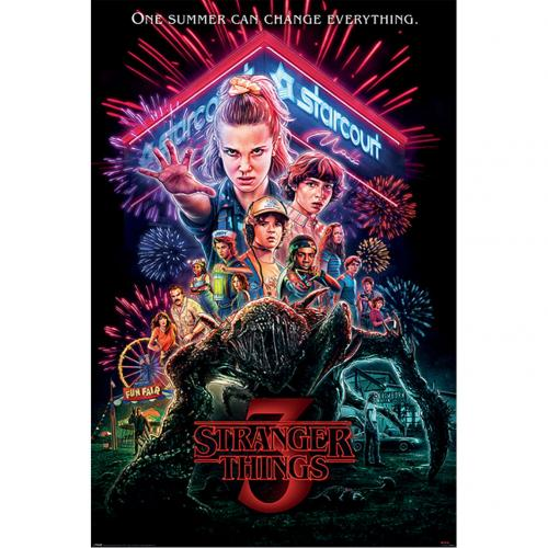 Stranger Things Poster 3 Poster 133