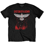 System of a Down T-Shirt unisex - Design: Dove Overcome