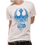 Star Wars T-Shirt - Design: Jedi Badge Explosion