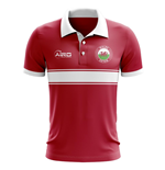 Wales Fußball Polohemd (Rot)