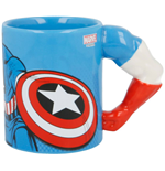 Marvel 3D Tasse Captain America