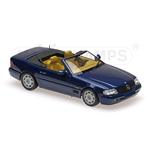 MERCEDES BENZ SL 1999 BLUE METALLIC