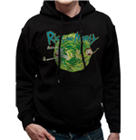 Rick And Morty Sweatshirt - Design: Black Portal