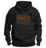 Kiss Sweatshirt unisex - Design: Logo, Faces & Icons