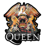 Queen Brosche - Design: Crest