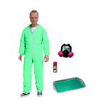 Breaking Bad Jesse Pinkman Blue Hazmat Actionfigur