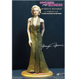 Marilyn Monroe Gold Dress Af Actionfigur