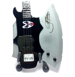 Mini Guitar Kiss Gene Simmons Axe Bass