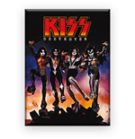 Kiss Destroyer Flat Magnet Magnets