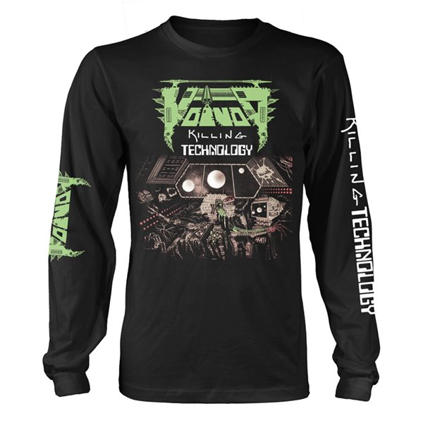 Longsleeve Trikot Voivod  Killing Technology