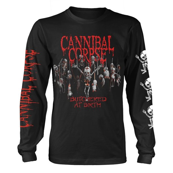 Cannibal Corpse Longsleeve Trikot BUTCHERED AT BIRTH BABY